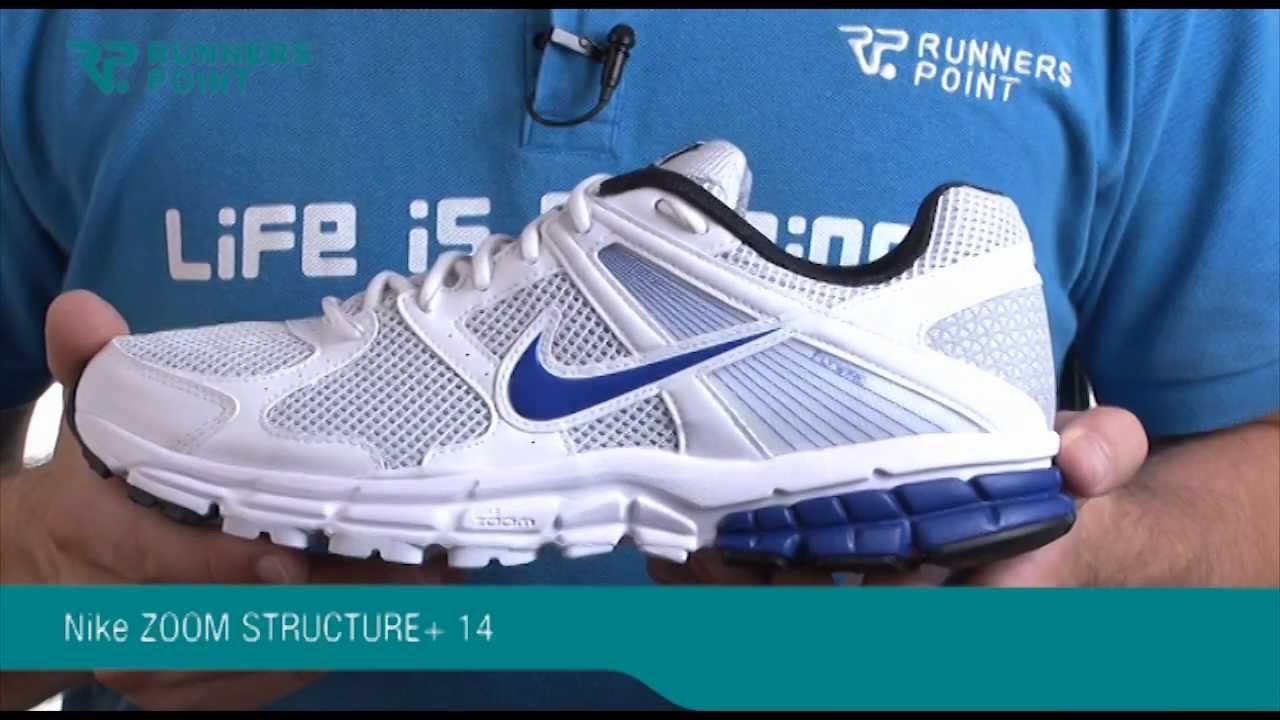 Nike ZOOM STRUCTURE TRIAX+ 14 - YouTube