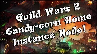 Guild Wars 2 - Raw Candy-corn Home Instance Node! (and Rant)