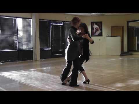 Tango sequence: Alternative Gancho and Barrida