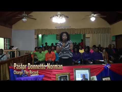 Memorial Service    The Record Donnette Norman Daughter