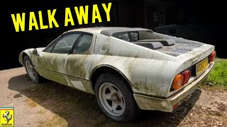 Heres Why You Should Never Attempt a Ferrari DIY Restoration