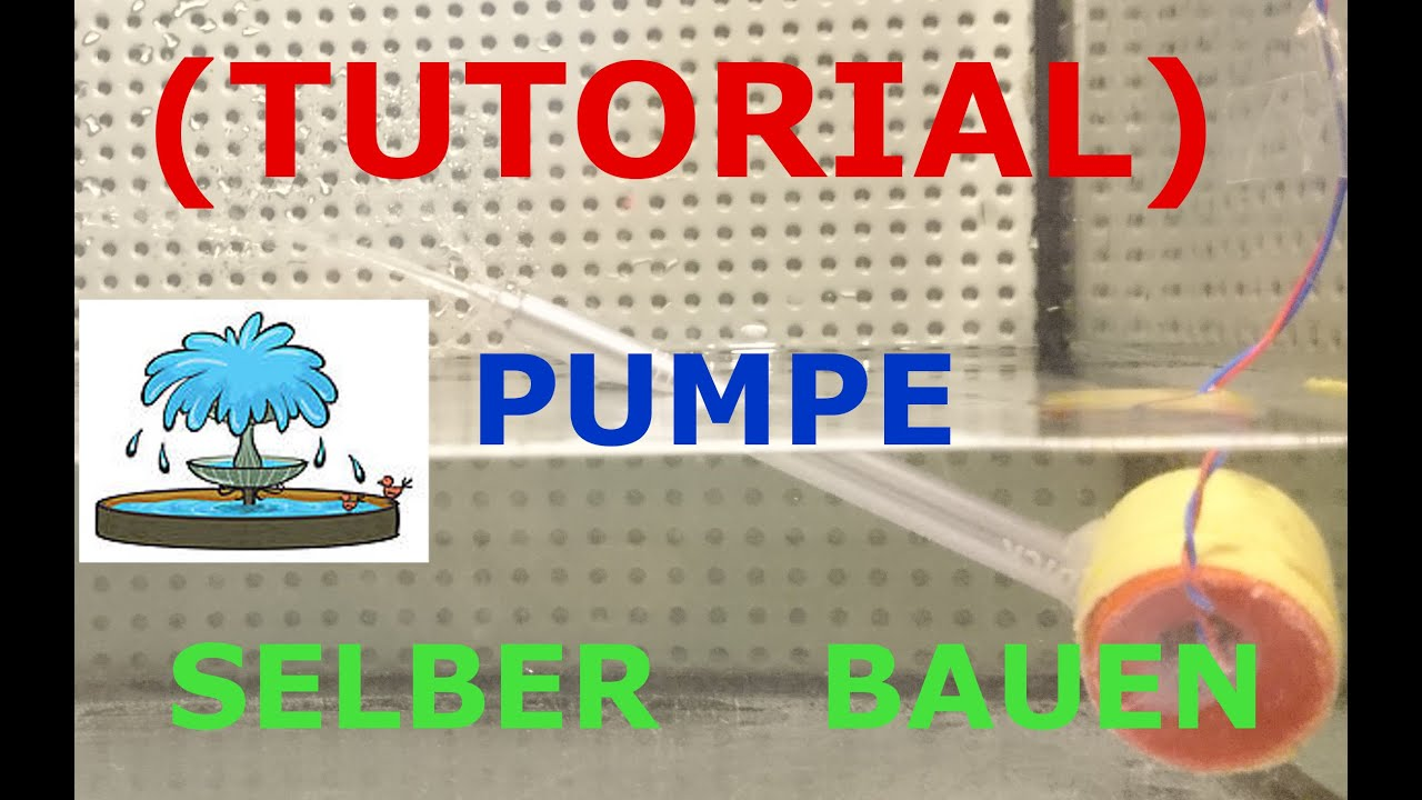 tutorial wasserpumpe mit hausmaterialien selber bauen youtube. Black Bedroom Furniture Sets. Home Design Ideas