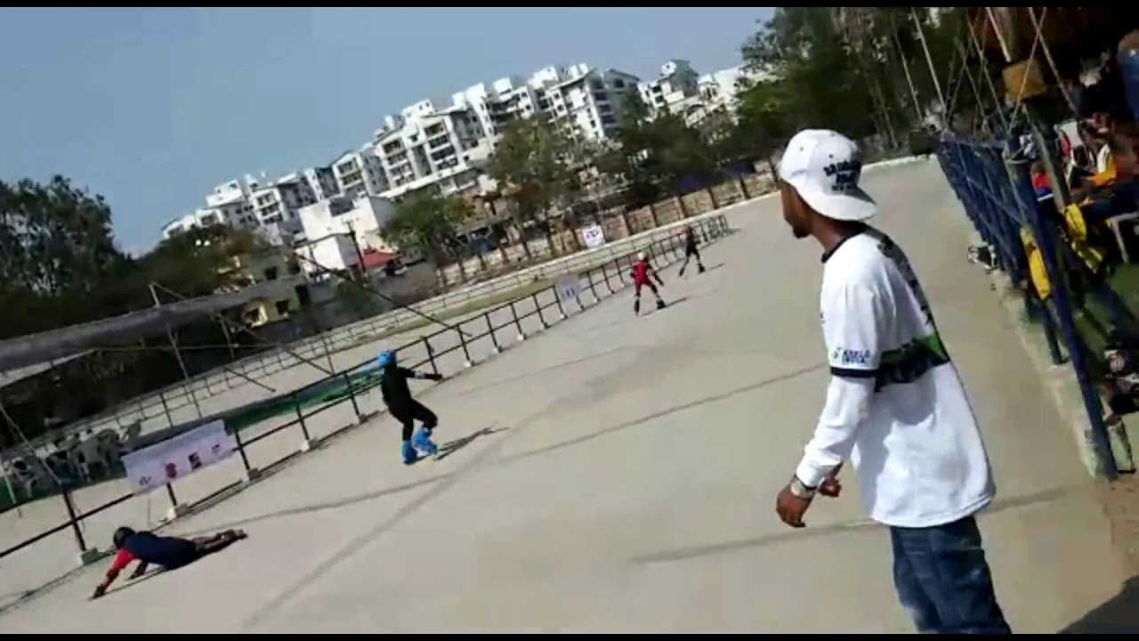 08-10 Years Boys Rec Inline Skaters Race At 8Th Lxt Skating Competition