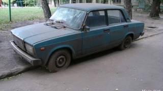Заброшенные автомобили городов России 8