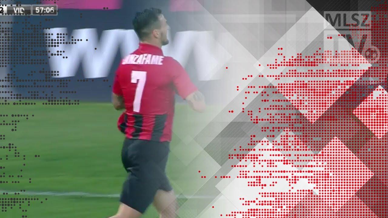Lanzafame Davide gólja a Budapest Honvéd - Videoton FC mérkőzésen