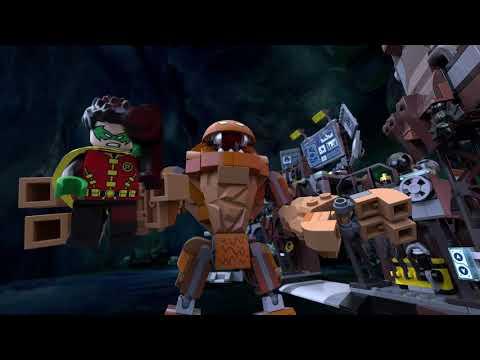 LEGO® Super Heroes 76122 - Вторжение Глиноликого в бэт-пещеру
