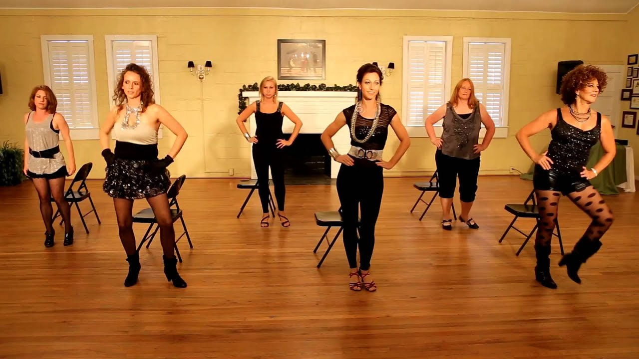 Rock DAT Booty Chair Dance Class - YouTube