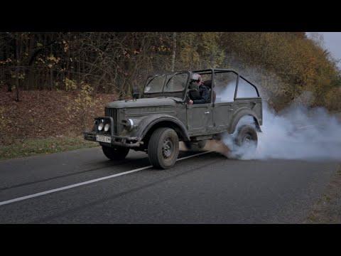 Газ 69 с мотором от Лексуса. Валим! (3UZ-FE)