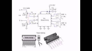 Устраняем хлопки в колонках. Amplifier TDA1552Q.