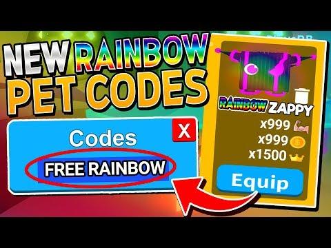 NEW SECRET *FREE* RAINBOW PET CODES In SABER SIMULATOR! (Roblox)