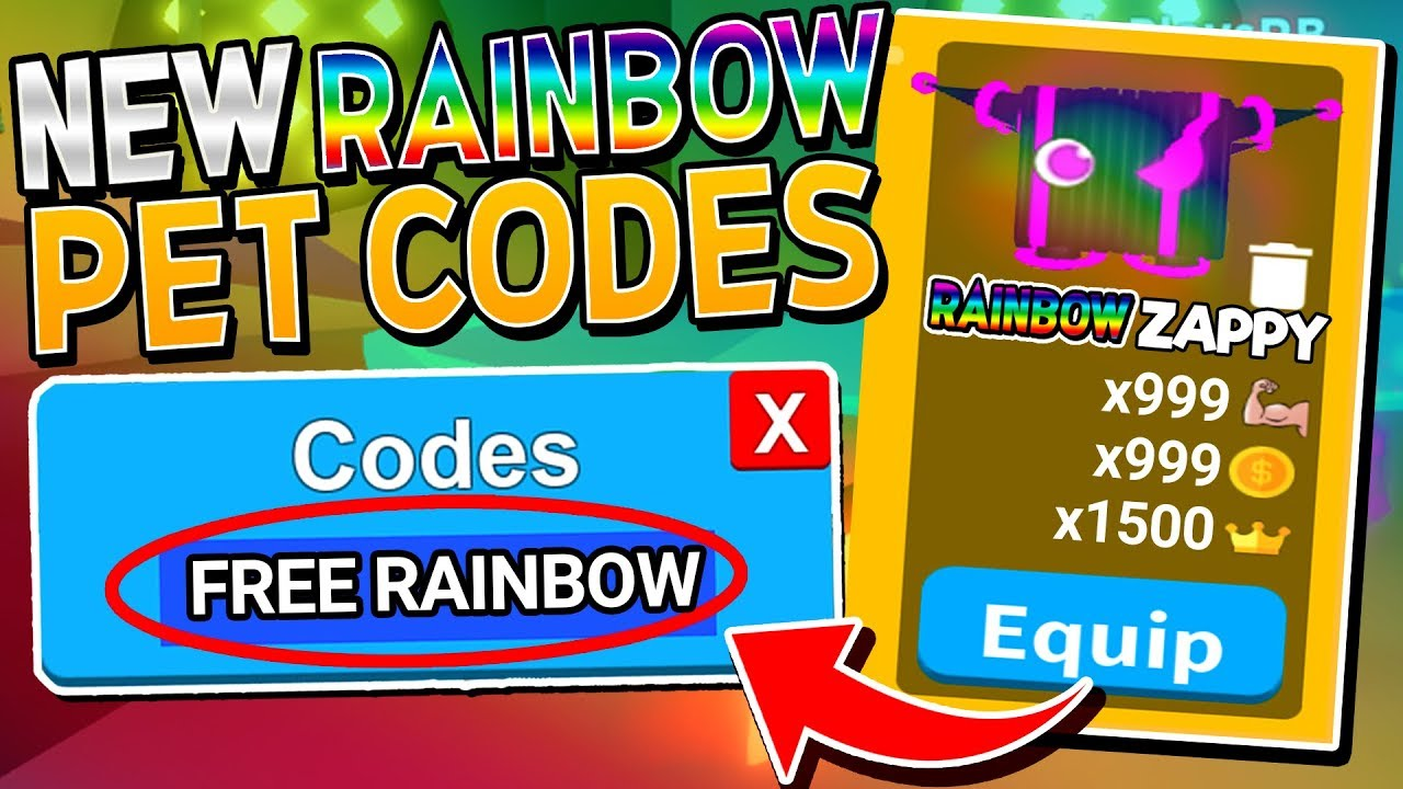 New Secret Free Rainbow Pet Codes In Saber Simulator Roblox