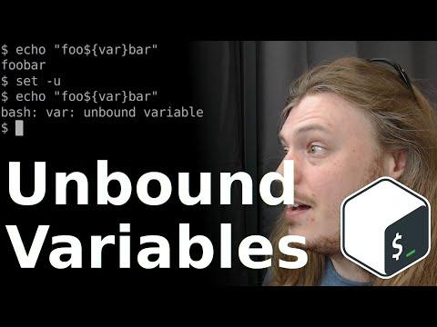 TIL: Bash Unset Variable Warnings - Bash Playground