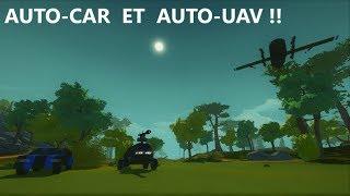 Des vehicules geniaux avec l'Intelligentia Mod !! ( Scrap Mechanics #02 )