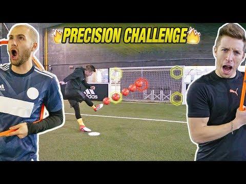 PRECISION CHALLENGE - Zapinho precisione ASSURDA!!