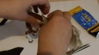 урок 1 :Как сделать седло на игрушечную лошадь