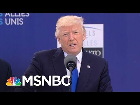 President Donald Trump: Intel Leaks On Manchester Investigation 'Deeply Troubling' | MSNBC