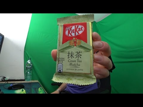 KitKat Green Tea Matcha REVIEW