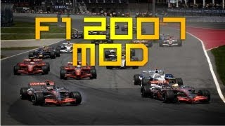 F1 2007 Season Mod (for F1 2012)