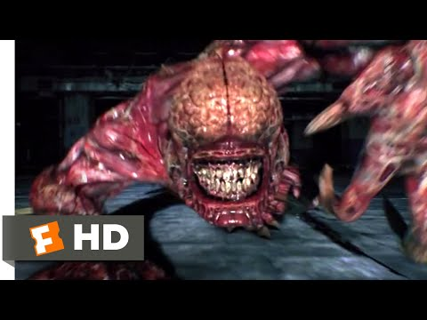 Resident Evil: Damnation (2012) - Licker Attack Scene (1/10) | Movieclips