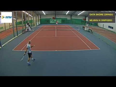 Daniel Lustig vs  ELmar Ejupovic 29 11 2017 ITF Futures Praha   muži