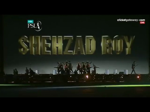 Shehzad Roy Performance | HBL PSL 2017