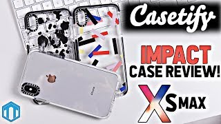 Gambar cover High Quality Clear Cases! iPhone Xs Max Casetify Impact Series Case Review!