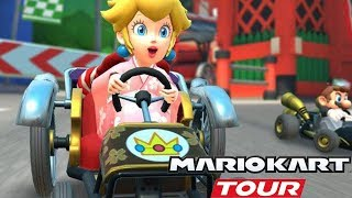 Mario Kart Tour - Tokyo Tour Peach Cup 150cc Gameplay Walkthrough