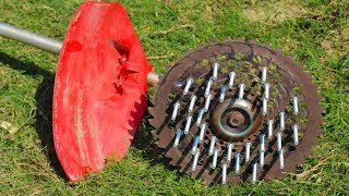 How to make Grass cutter blade at home