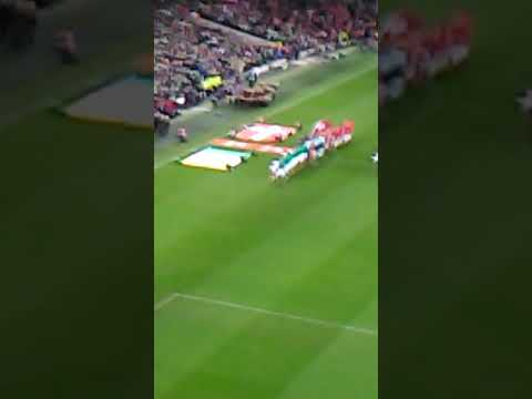 Republic Of Ireland 2017 Vs Denmark World Cup playoff 2nd leg Irish Anthem