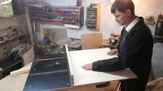 Изготовление каретки для распиловочного стола. Table saw sled.(, 2014-05-02T20:49:07.000Z)