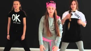 OPEN KIDS Не танцуй Официальный видео урок по хореографии из клипа part II Open Art Studio 3