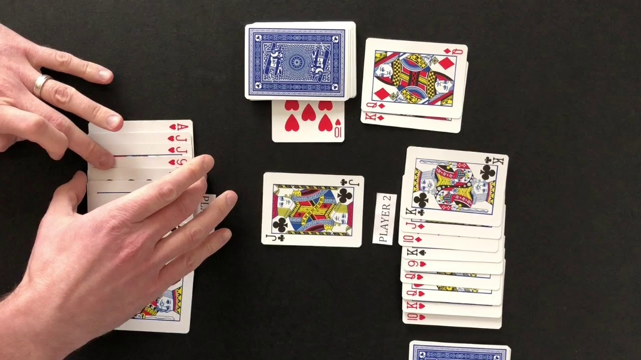 How To Play Pinochle 2 Players Youtube Pinochle Card Game 500 Card Game Card Games