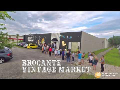 Visit St. Petersburg/Clearwater Brocante Vintage Market