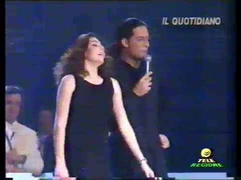 Music Goes Swatch 1995 con Fiorello e Ambra Angiolini; mega concerto @ Palaeur di Roma