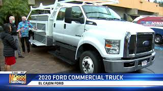 Dave stall 2020 ford commercial truck el cajon