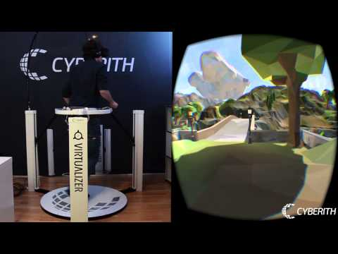 Cyberith Virtualizer Decoupled Body And Head Orientation In Polyworld