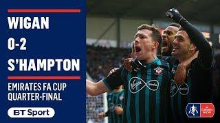 Emirates FA Cup Highlights: Wigan 0-2 Southampton