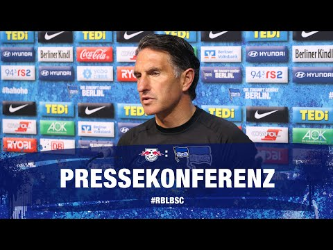PK Vor RB Leipzig | Bundesliga | 28. Spieltag | Hertha BSC