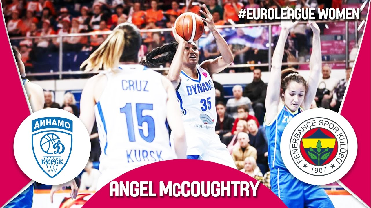 Dynamo Kursk's Angel McCoughtry crowned MVP - Highlights -