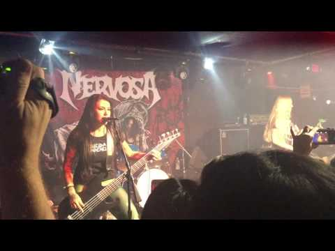 August 08 2016 Nervosa (full live concert) [Blackthorn 51, New York]