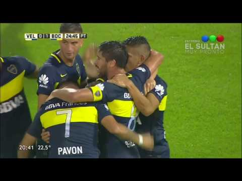 Vélez 1 - 3 Boca Juniors - Fecha 19 Torneo Argentino 2016/17