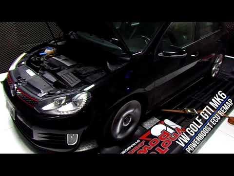 VW Golf GTI Mk6 PowerBoost ECU remap