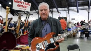 Norm goes shopping at the Orange County Guitar Show 2017