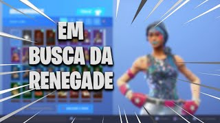 FORTNITE SHOWING MY ACCOUNT + 70 SKINS (IN SEARCH OF RENEGADE RAIDER)