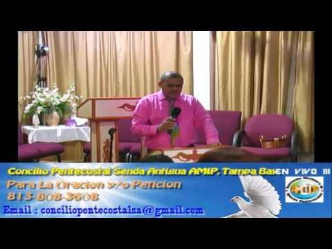 Culto Evangelistco Concilio Pentecostal Senda Antigua AMIP Tampa Bay. - 07-31-2016