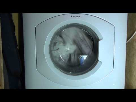 Hotpoint HF8B593 Washing Machine : Cotton Extra Rinse + Superwash (4/5)