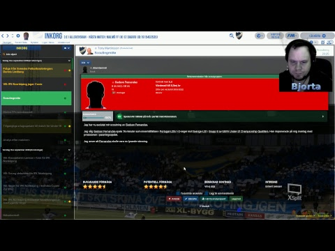 Football Manager 2018 Svenska & Swedish Match mot Åtvid borta