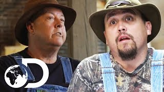 Mark and Digger Want The Money That They're Owed By Mike! | Moonshiners