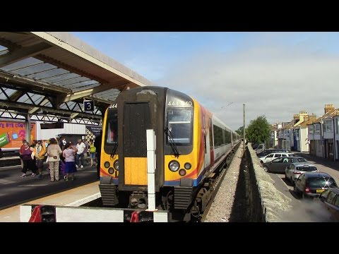 Poole to Weymouth South Western Main Line SWT Class 444 Desiro