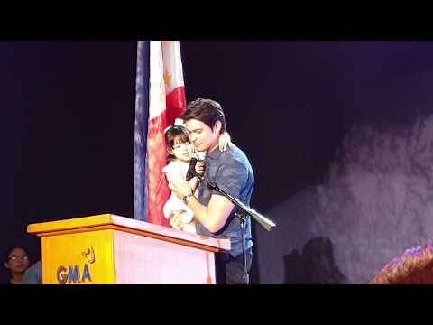 Hands On Daddy Talaga Dingdong Dantes during Project #BESCENE with Baby Zia - 동영상